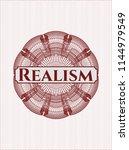 red passport rossete with text... | Shutterstock .eps vector #1144979549