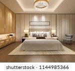 3d rendering luxury modern... | Shutterstock . vector #1144985366