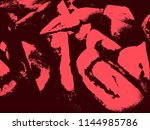 black and red abstract... | Shutterstock . vector #1144985786
