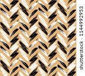 zigzag pattern seamless zigzag... | Shutterstock .eps vector #1144992953