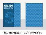 a4 business finance concept... | Shutterstock .eps vector #1144995569