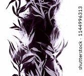 imprints monochrome dracaena... | Shutterstock . vector #1144996313