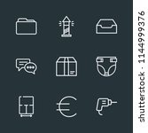 modern flat simple vector icon... | Shutterstock .eps vector #1144999376