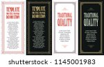 vector set for creating... | Shutterstock .eps vector #1145001983