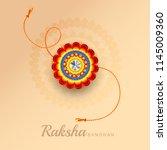 illustration of raksha bandhan... | Shutterstock .eps vector #1145009360