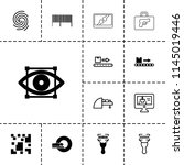 scan icon. collection of 13...   Shutterstock .eps vector #1145019446