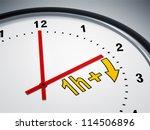 an image of a nice clock... | Shutterstock . vector #114506896