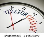 an image of a nice clock with... | Shutterstock . vector #114506899