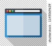 program window icon in flat...