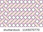 colorful horizontal ornament... | Shutterstock . vector #1145070770