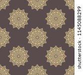 orient vector classic pattern....   Shutterstock .eps vector #1145088299