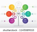 business presentation or... | Shutterstock .eps vector #1145089010