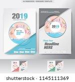 business brochure. flyer design.... | Shutterstock .eps vector #1145111369