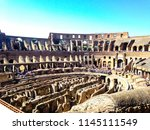 rome  italy   27.09.2015 ... | Shutterstock . vector #1145111549