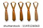 realistic vector silk satin...   Shutterstock .eps vector #1145126063
