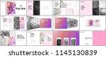 minimal presentations design ... | Shutterstock .eps vector #1145130839