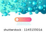 science and medicine abstract... | Shutterstock .eps vector #1145155016