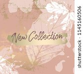 autumn collection trendy chic... | Shutterstock .eps vector #1145160506