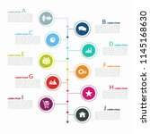 infographic design template...   Shutterstock .eps vector #1145168630