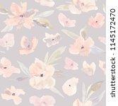 elegant watercolor abstract... | Shutterstock . vector #1145172470