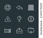 modern flat simple vector icon... | Shutterstock .eps vector #1145173229
