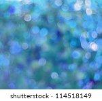 abstract background blue bokeh... | Shutterstock . vector #114518149