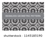 geometric pattern can use for... | Shutterstock .eps vector #1145185190