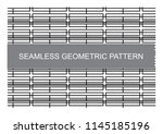 geometric pattern can use for... | Shutterstock .eps vector #1145185196