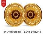 komodo. accepted sign emblem.... | Shutterstock .eps vector #1145198246