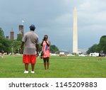 washington  dc   may 31  2018 ... | Shutterstock . vector #1145209883