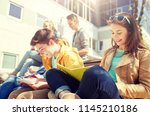education  high school and...   Shutterstock . vector #1145210186