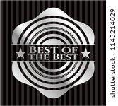 best of the best silver badge...   Shutterstock .eps vector #1145214029