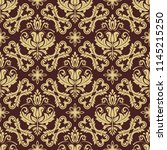 orient vector classic brown and ...   Shutterstock .eps vector #1145215250