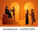 biblical vector illustration... | Shutterstock .eps vector #1145217629