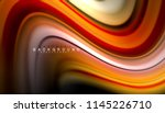 fluid colors abstract... | Shutterstock .eps vector #1145226710