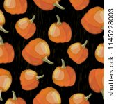vector seamless pattern with... | Shutterstock .eps vector #1145228003