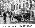 amsterdam  netherlands  ... | Shutterstock . vector #1145229203