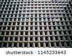 modern constructed building... | Shutterstock . vector #1145233643
