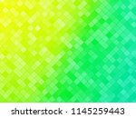 abstract green yellow tiled... | Shutterstock .eps vector #1145259443