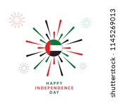 happy uae independent day... | Shutterstock .eps vector #1145269013