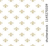 royal pattern  in the style of... | Shutterstock .eps vector #1145270339