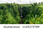 breathtaking sopoaga falls in... | Shutterstock . vector #1145273789