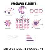 infographic elements  annual...   Shutterstock .eps vector #1145301776