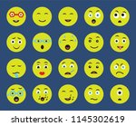 set of 20 icons such as cyclops ... | Shutterstock .eps vector #1145302619