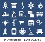 set of 20 icons such as trolley ...