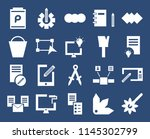 set of 20 icons such as pipette ...