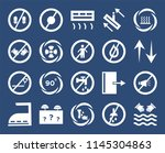 set of 20 icons such as hand...