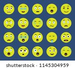 set of 20 icons such as... | Shutterstock .eps vector #1145304959