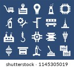 set of 20 icons such as boxes ...