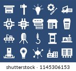 set of 20 icons such as tool...